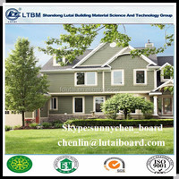 Wood grain fiber cement siding board waterproof price