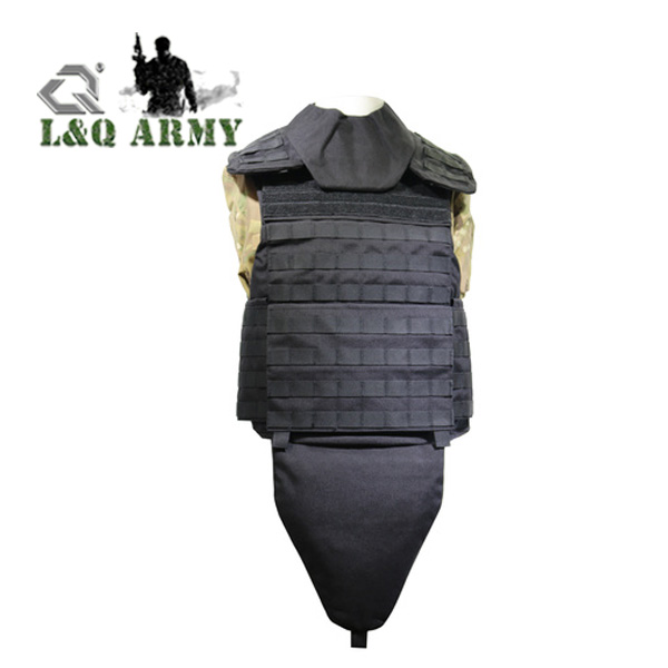 Tactical Body Armor Vest Protection Bullet Proof Vest Molle Plate Carrier With Quick Release