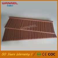 Cheap building materials Wanael Shake Glazed Spanish Roof Tiles Prices