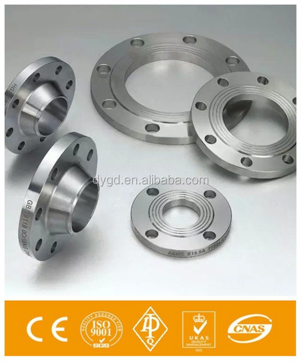 ANSI b16.5 4 inch Class 150 SCH 40 Raised Face Stainless Steel 316 Welding Neck Flanges