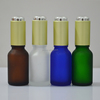 30ml dropper bottles glass cosmetic bottles with pump cap glass bottle
