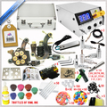 Sale Complete 2 Machines Kit 40 Ink Set Power Supply Free Tattoo Kits with Free Gifts