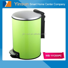 Color coated garbage dustbin with cover