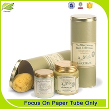 Cylinder Custom Gourmet Single Cookie Tubes Packaging