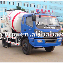 FOTON 4x2 small 3-5CMB mixer concrete transport trucks for sale