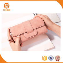 Latest design cheap ladies purse leather wallet