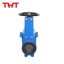 ductile iron bi-directional resilient seated knife gate valve
