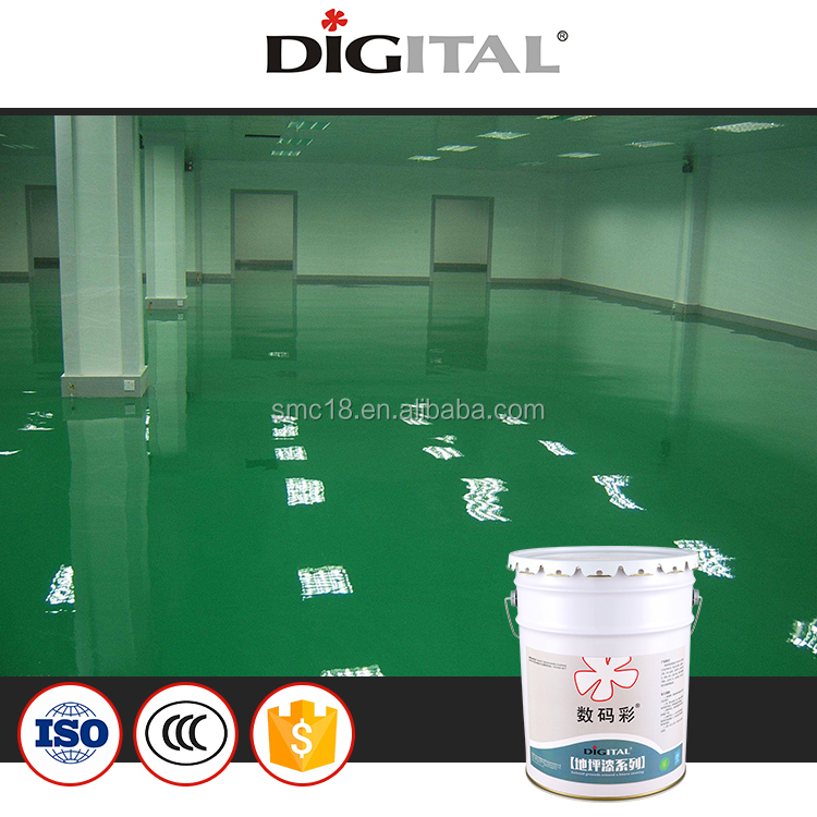 metallic Epoxy floor paint primer paint for workshop houseware