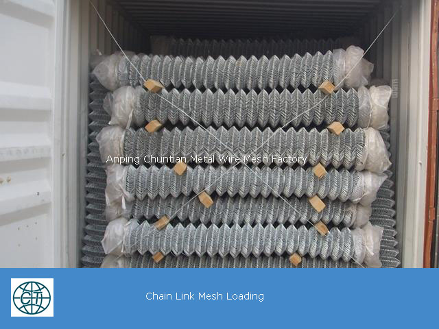 high quality Chain Link Fence Galvanized Steel Wire with Vinyl Coating