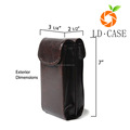 Professional design carrying portable glasses case