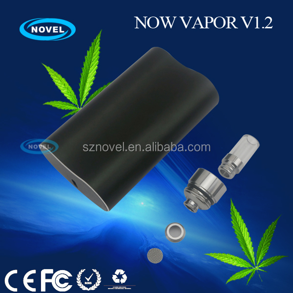 Now Vapor V1.2 Unique device better than TITAN china smoking herbal vaporizer