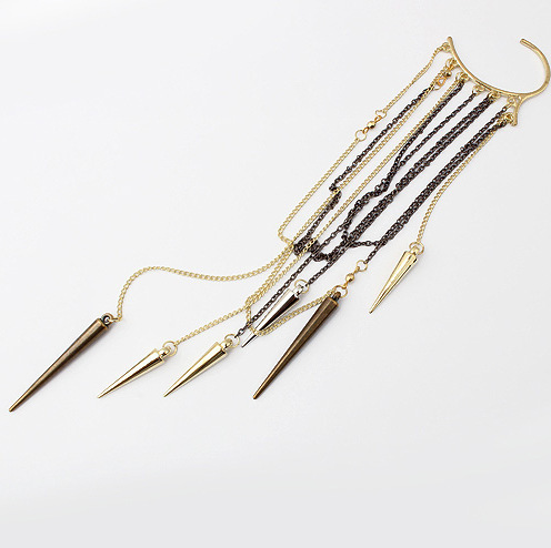 Punk tassel Cone earhook <strong>A06</strong>