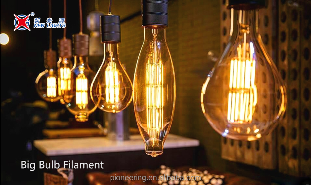 Huge led filament <strong>bulb</strong> big size G200 TT80 vintage <strong>bulb</strong> light Edison <strong>bulb</strong> type