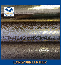 metallic shiny pu synthetic leather, wax feeling for upper shoes