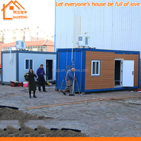 Hot sale low price easy assembly portable movable prefabricated container house