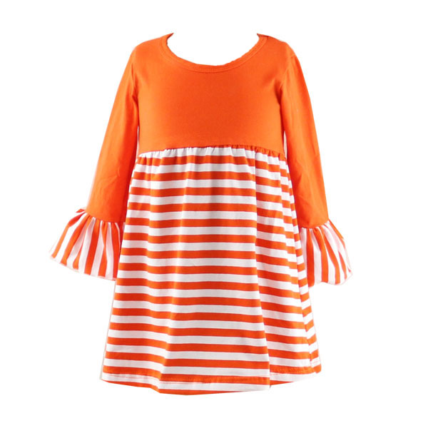 wholesale little girl fall model top 100 kids cotton stripe frock designs pictures girls dress names with pictures