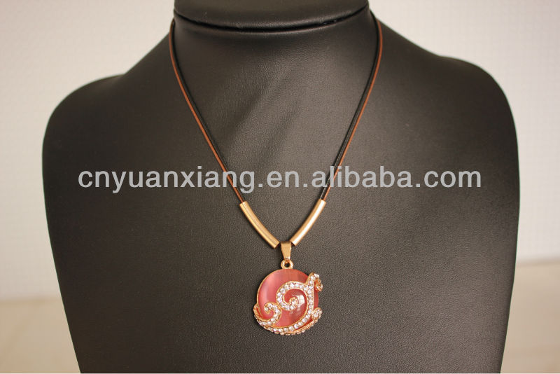 NEWS! China Jewelry 2013 New design Fashion pendant Necklace 2013 costume diamond necklace