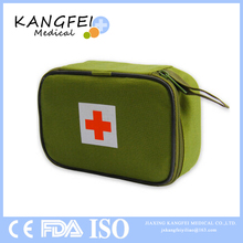 CE ISO FDA Approved KF31 army green nylon army survival first aid medical bag