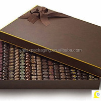 Luxury Recycled Material Craft Paper Chocolate