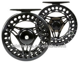 Chinese aluminum cnc fly reel large arbor