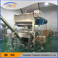 CE Cetification SS304 food ribbon mixer machine