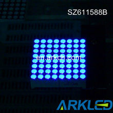 1.5'' blue LED Display ,8x8 Dot Matrix