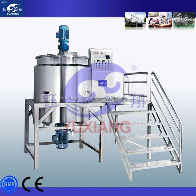 300L detergent liquid soap making machine/shampoo mixer tank lotion mixer