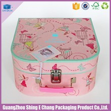 Wholesale cosmetic packaging boxes for aluminum makeup vanity box with lock/makeup vanity box