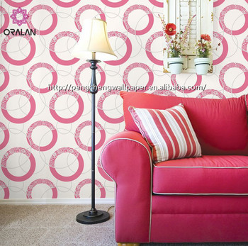 Hot Sales Elegant House wallpaper China manufacturer