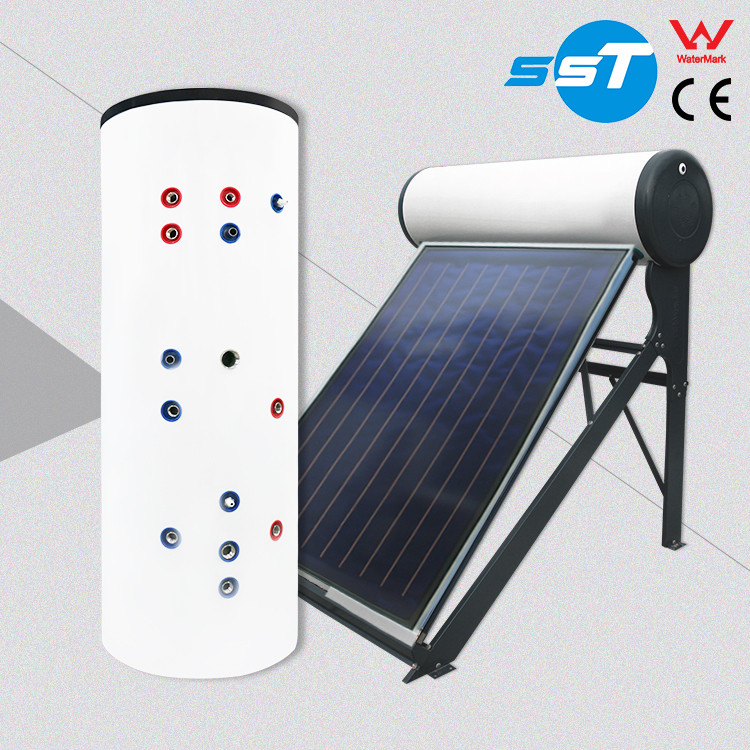 Top-level latest design 300L duplex stainless steel solar water heater 1