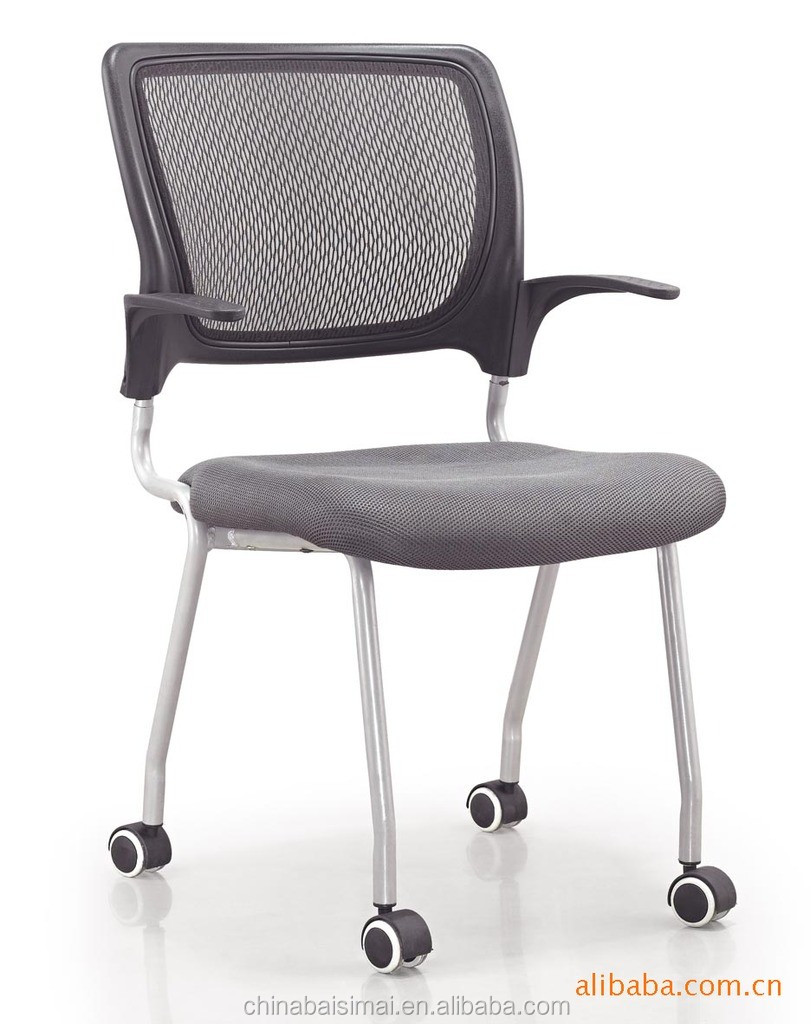 Modern cheap movable office chair with wheels in office chairs furniture