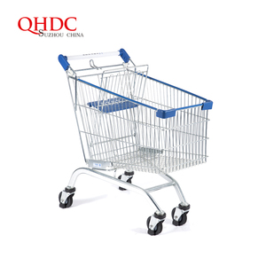 shopping trolley metal push carts sale for malaysia