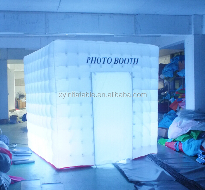 2015 Wholesale Inflatable Trade Show Booth,Inflatable Advertising Booth,Custom Led Inflatable Photo Booth For Sale