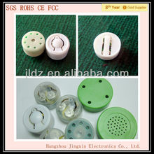 Mini interesting plastic music press button for plush toys