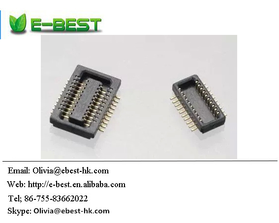 Connector 0.5 pitch board to board connector male seat DF23C-50DP-0.5V
