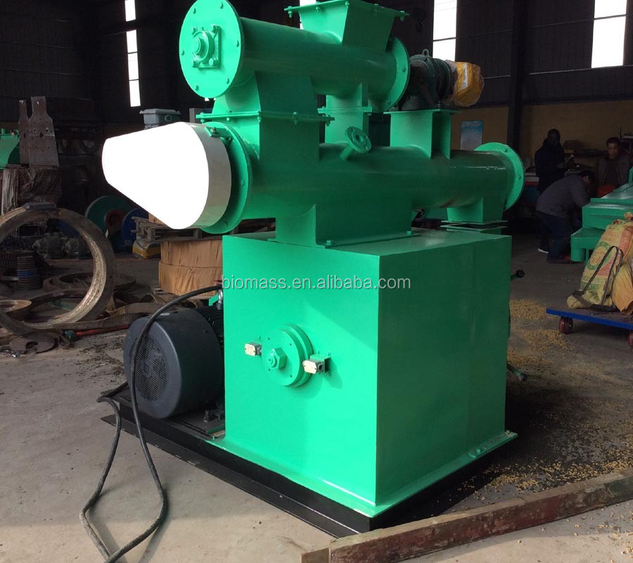 Farm use animal feed processing equipment ring die pellet machine