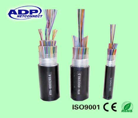 multipair telephone cable 10/20/25/30/50/100 pair jelly filled & armoured telephone cable