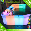 2017 Lastest outdoor and Indoor Plastic Portable Illuminated LED Bar Counter