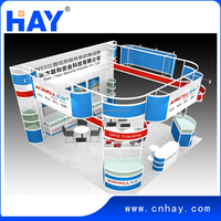 2015 Shanghai Factory Modular exhibition stand with good price and quality