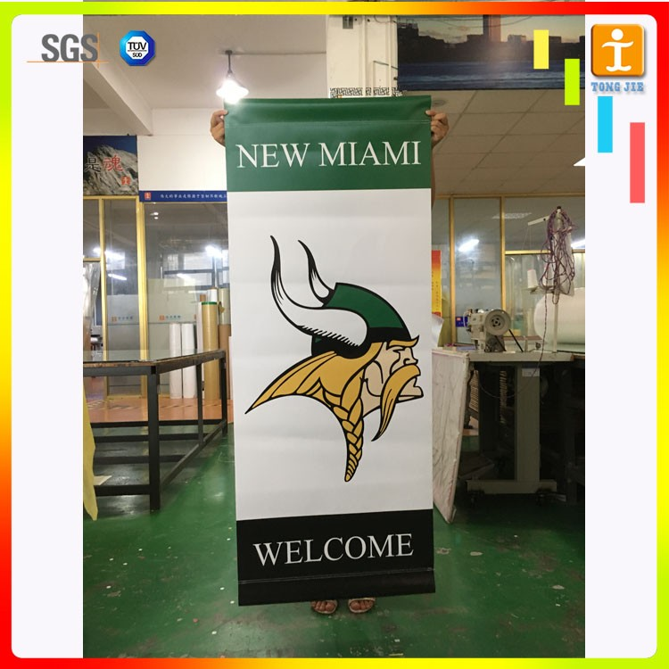 Outdoor hanging banner, outdoor advertising flag/street banner/lamp pole banner