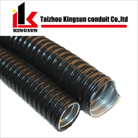 PVC coated stainless steel flexible corrugated conduit pipe