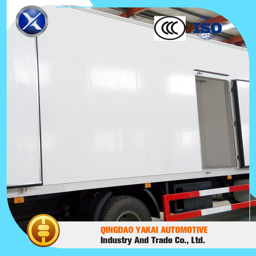 Beautiful appearance high quality freezer insulated van box truck body new for sale