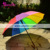 Personalized Printed Rainbow Sun Umbrella