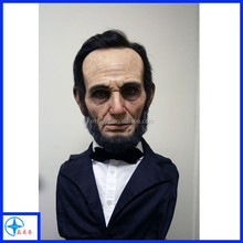 Famous persons resin bust, lifesize fiberglass celebrity statues