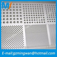 Noise sound-absorbing punching hole mesh perforated metal sheets