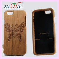 2016 character design wooden phone case back cover for iphone