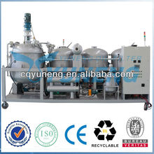 Waste or Used Motor Oil Regeneration Plant