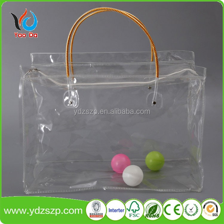 Fashion Clear PVC Cosmetic Bag EVA Make up Bags Cheap Cosmetic Bag