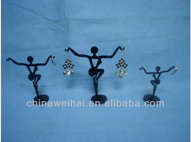 Human shape Acrylic Earrings Display Holder
