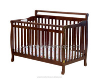 3 in 1 convertible wood baby crib baby cot baby bed
